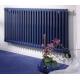 Синие радиаторы отопления